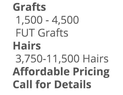 Affordable Hair Graft Transplants